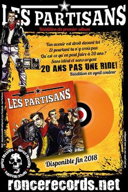 Les Partisans - Leur 1er opus repressé par Ronce Records :-)