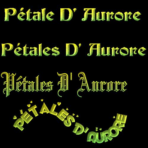 Pétales D' Aurore