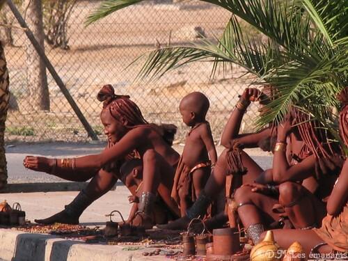 Les Himbas de Namibie