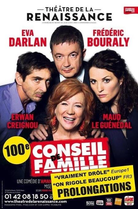 Théâtre de la Renaissance : Conseil de famille