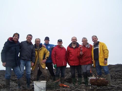 Pêche aux huitres le samedi 4 Janvier 2014
