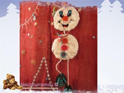 Bonhomme de neige, suite décor hiver