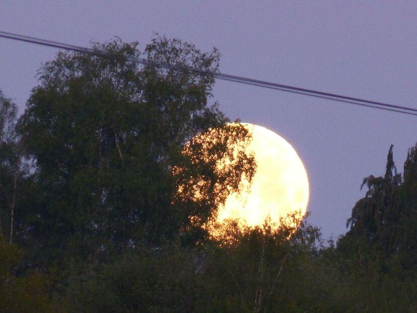 La derniere Super lune de cette année