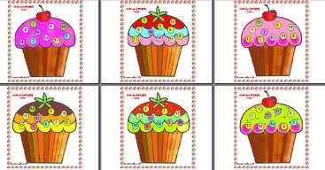 jeu loto des cupcakes