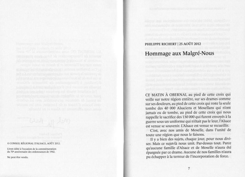 Texte de M.Richert