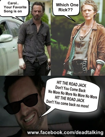 The Walking Dead season 4 Memes 15