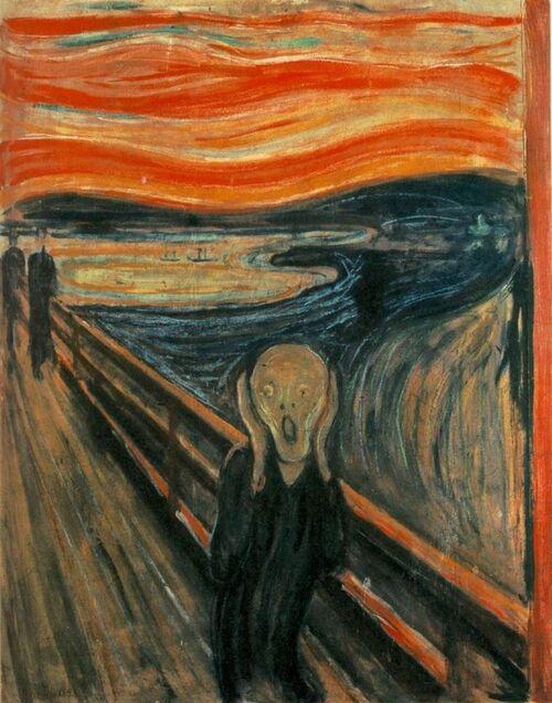 LE CRI de Edvard Munch