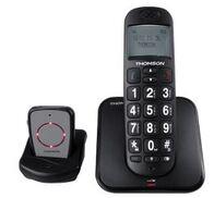 Thomson Conecto 300 : un téléphone fixe équipé d'un médaillon