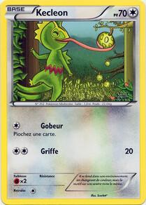 Kecleon carte promotionnelle XY Pokemon Art Academy