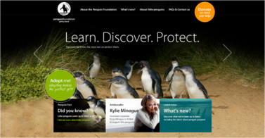 Site de Penguin Foundation