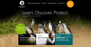 Site de Penguin Foundation