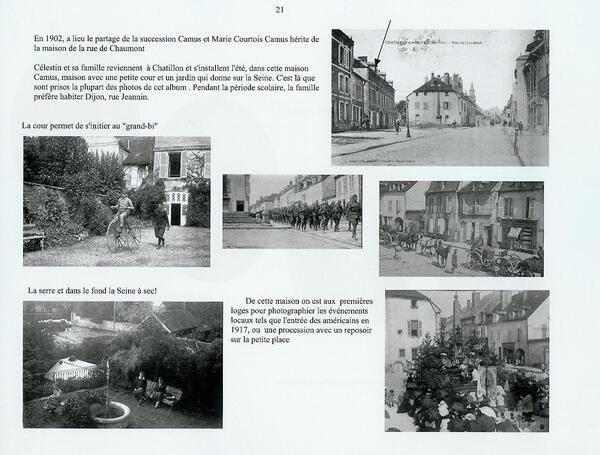 La famille Lemonnier et Courtois possède une belle tombe au cimetière Saint Vorles de Châtillon sur Seine...