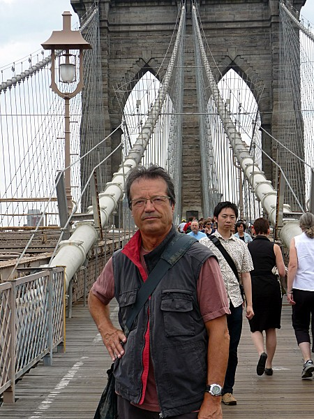 Norbert Brooklyn bridge
