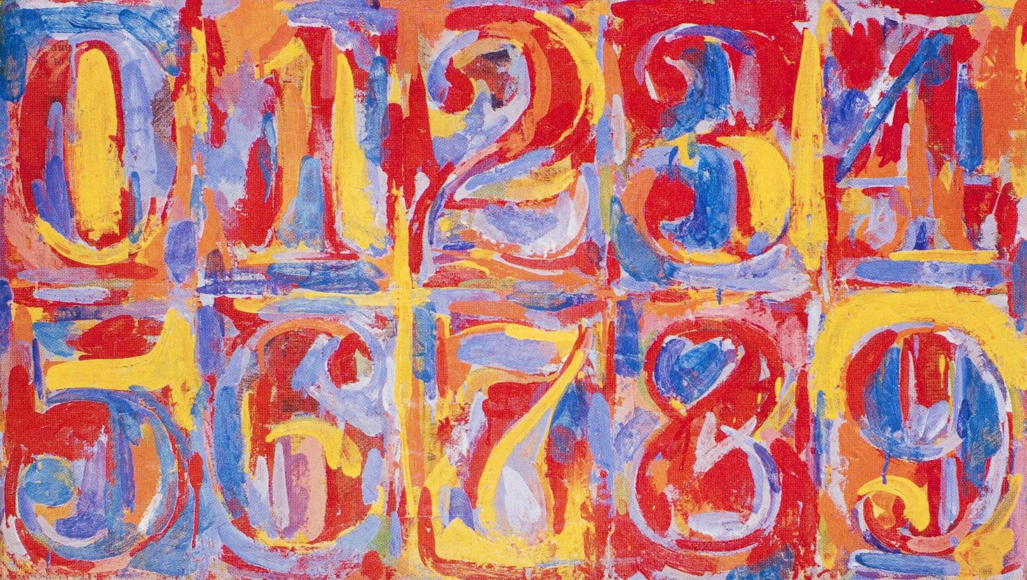 Lart De Jasper Johns Détourner Le Quotidien Mitsouko Au Cp
