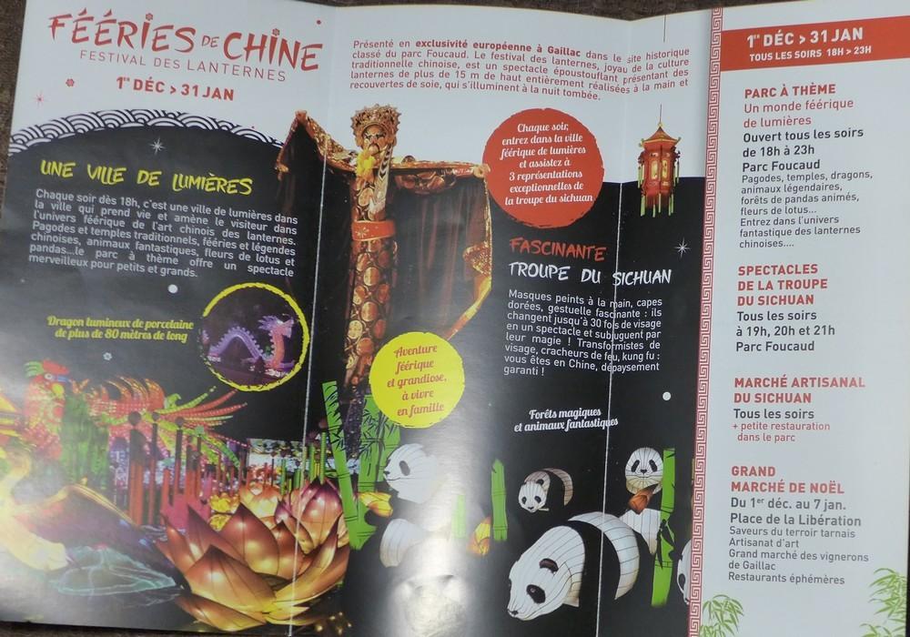 Fééries de Chine, le festival des lanternes chinoises à Gaillac : le programme...