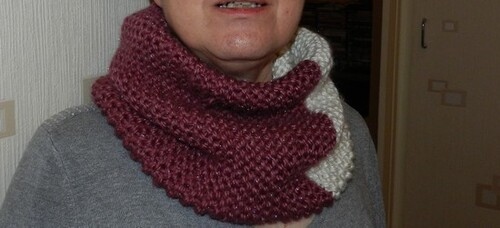 TRICOT ET... SNOOD !