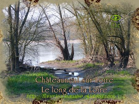 Le long de la Loire à Châteauneuf sur Loire