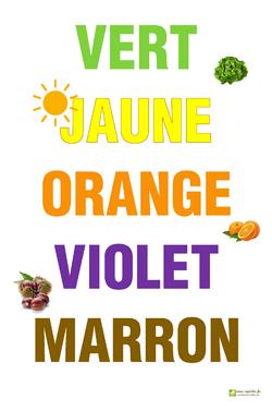 affiche des couleurs 2