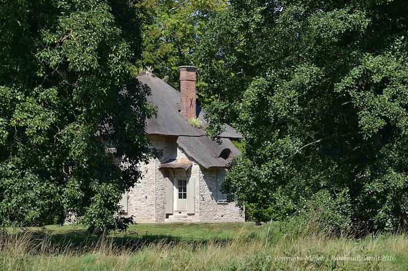 Parc du Château de Rambouillet : La Chaumière aux coquillages