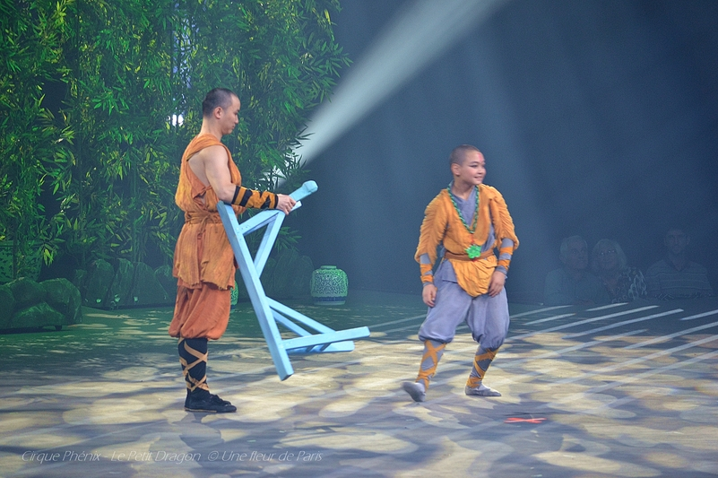 Cirque Phénix - Le Petit Dragon : (5) - Le Dragon Cracheur de Feu