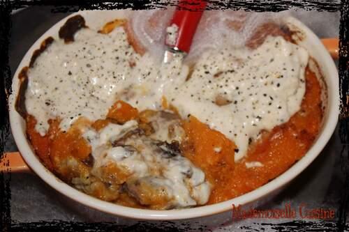 Bataille food 28 : Parmentier de canard, patate douce et crème au poivre de Malaisie