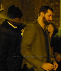 The Stage door: we saw Richard (english translation)