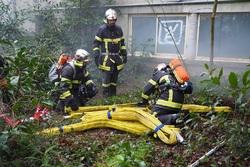 Les pompiers à l'hôtel