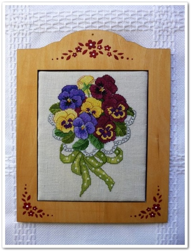 Pansy Bouquet fin