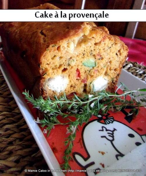Cake à la provençale