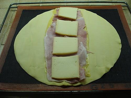Feuilleté Jambon Fromage 3