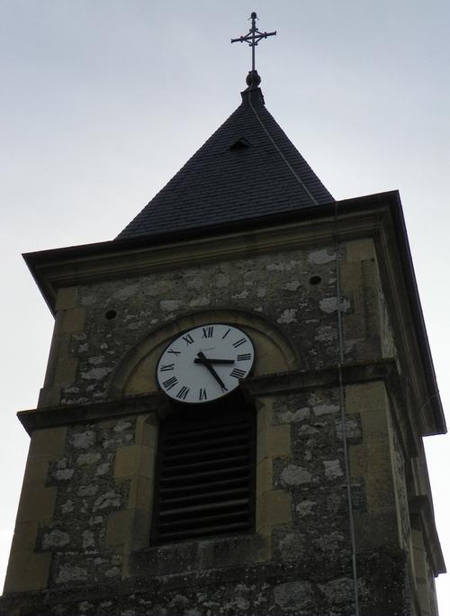 L'église de Lavours
