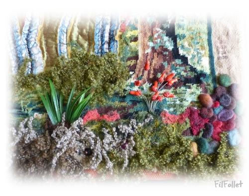 Les fleurs du marécage