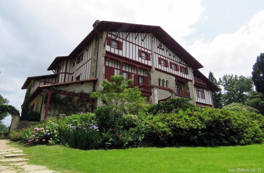 la villa Arnaga à Cambo - 2