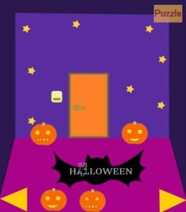 Halloween puzzle room escape