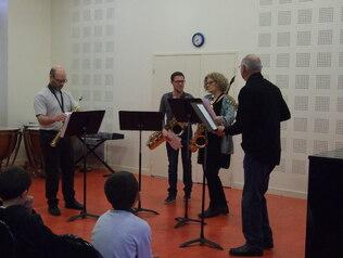 Audition : saxophone et chorale enfants