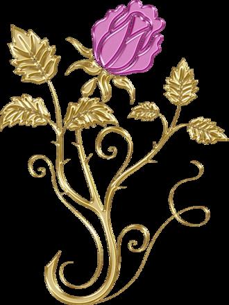 fioritures de Noël png 2
