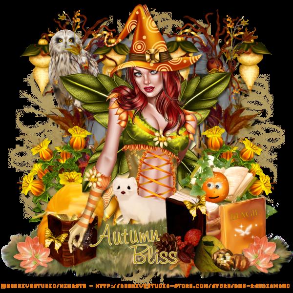 """Tutoriel """"Autumn Fairy Witch"""" de Devious Desires"""