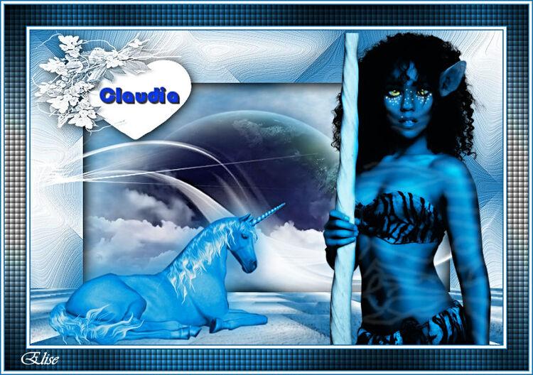 Claudia de Evalynda  psp