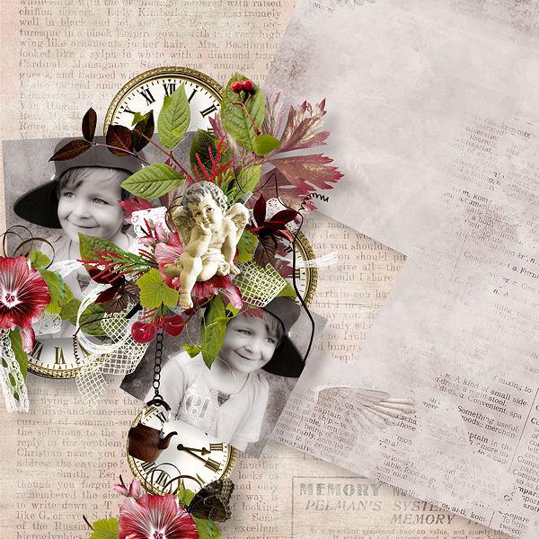 """Romantique"" by Xuxper Design & Tifscrap"