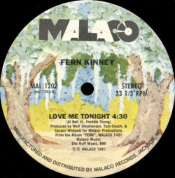 Fern Kinney - Love Me Tonight