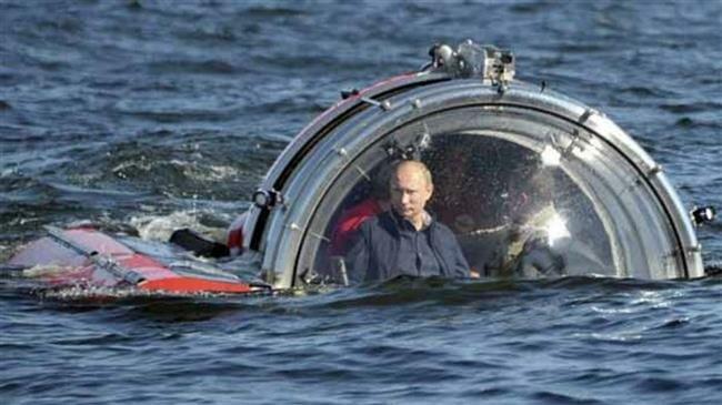 Le président russe, Vladimir Poutine dans une nouvelle torpille nucléaire à grande vitesse d'une puissance de 100 mégatonnes. (Photo d'archives)