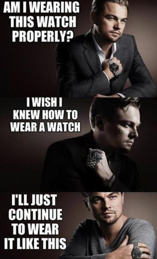 leonardo dicaprio watch