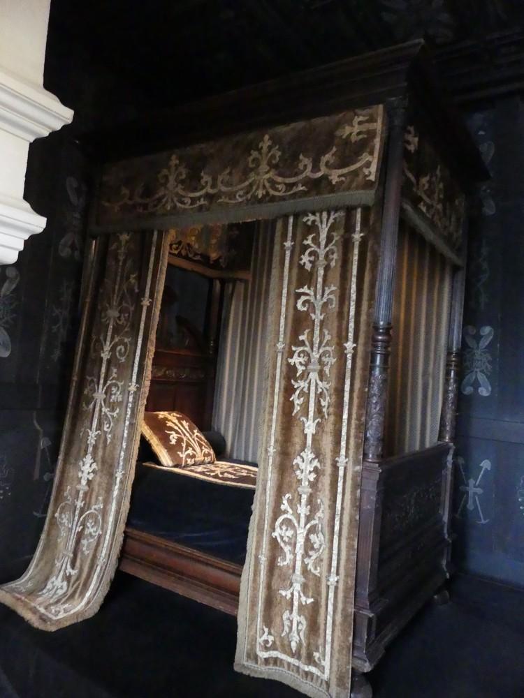 Le château de Chenonceau : le premier et le second étage...