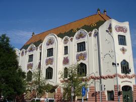 Keskemet, palais Cifra ou palais chamaré