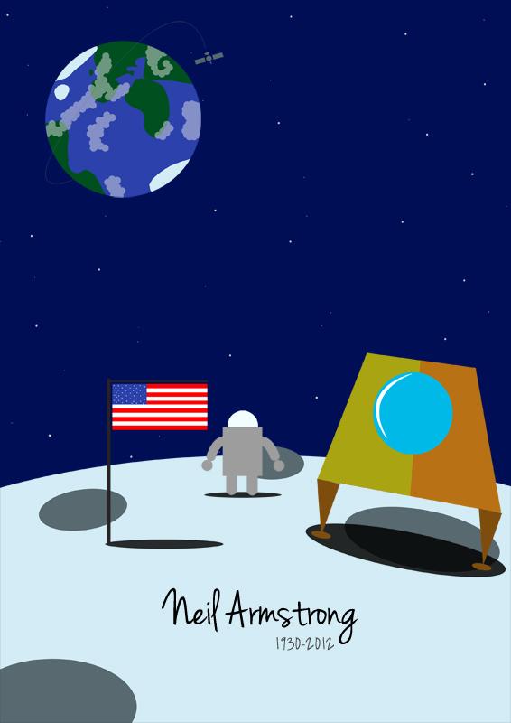 Un homme dans la Lune