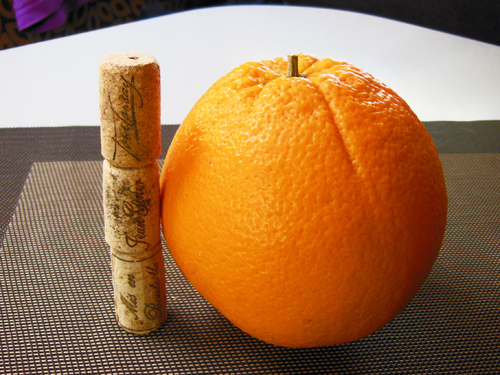 L'orange qui voulait se faire…