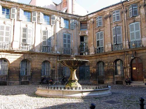 Fontaines à Aix-en-Provence