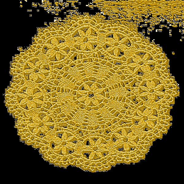 Dentelles jaunes 1