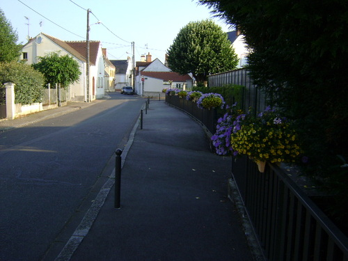 Le trottoir de la rue du Coq fait cocorico !