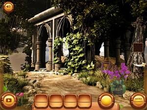 Jouer à Abandoned garden escape